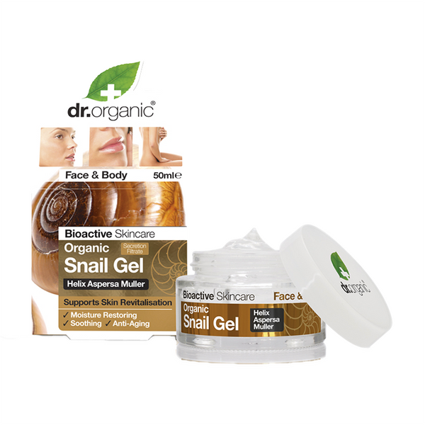 Snail Gel 50Ml-Body Care-Dr Organic-BEAUTY ON WHEELS-UAE-Dubai-Abudhabi-KSA-الامارات