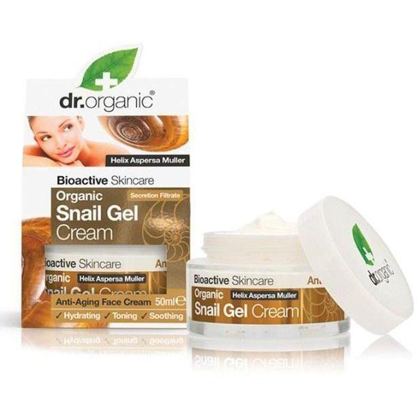 Snail Gel Cream 50 Ml-Face Care-Dr Organic-BEAUTY ON WHEELS-UAE-Dubai-Abudhabi-KSA-الامارات