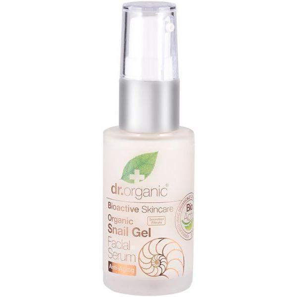 Snail Gel Facial Serum 30 Ml-Face Care-Dr Organic-BEAUTY ON WHEELS-UAE-Dubai-Abudhabi-KSA-الامارات