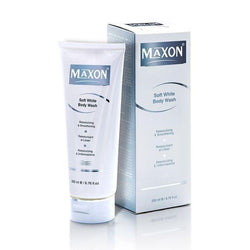 Soft White Body Wash 200 Ml-Body Care-Maxon-BEAUTY ON WHEELS-UAE-Dubai-Abudhabi-KSA-الامارات