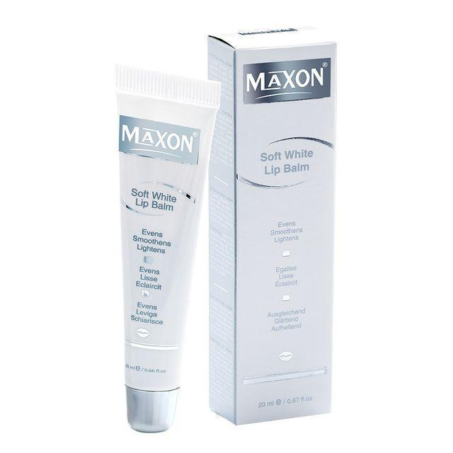 Soft White Lip Balm 20 Ml-Face Care-Maxon-BEAUTY ON WHEELS-UAE-Dubai-Abudhabi-KSA-الامارات