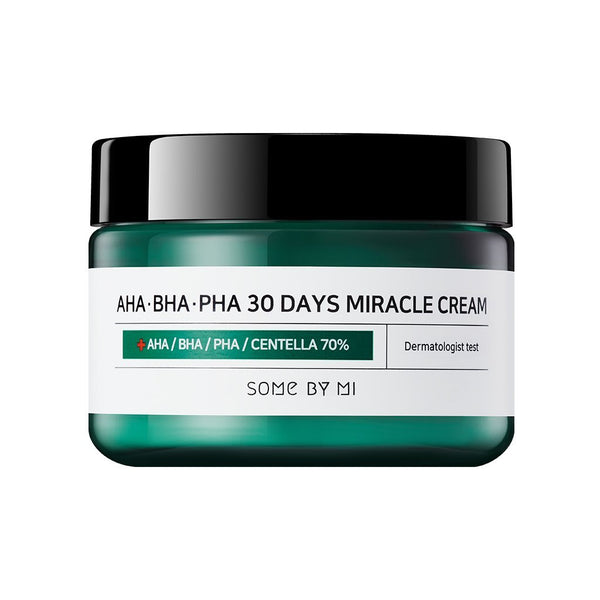 Some By Mi-AHA BHA PHA 30 Days Miracle Cream 50ml-BEAUTY ON WHEELS