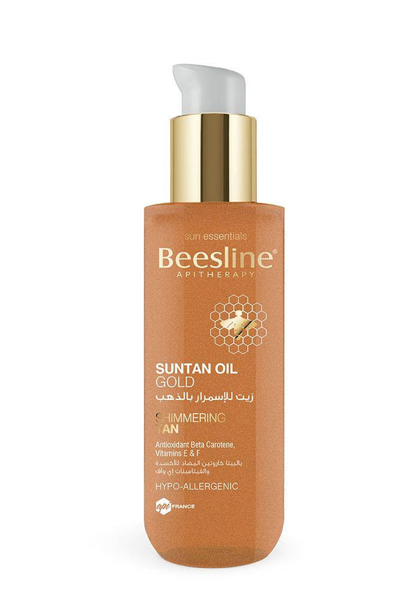 Suntan Oil Gold 200Ml-Beesline-UAE-BEAUTY ON WHEELS