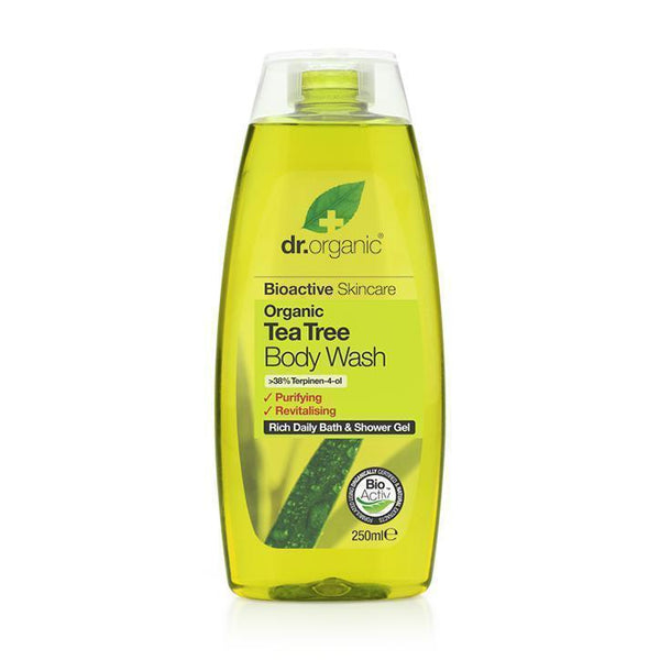 Tea Tree Body Wash-Dr Organic-UAE-BEAUTY ON WHEELS