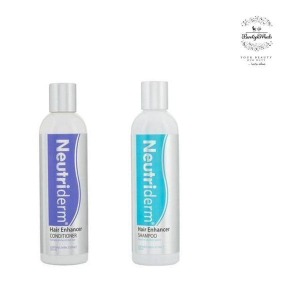 The Hair Enhancer Shampoo & Conditioner-Hair Care-Neutriderm-BEAUTY ON WHEELS-UAE-Dubai-Abudhabi-KSA-الامارات