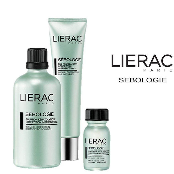 The Sebologie Care Imperfections Trio-Lierac-UAE-BEAUTY ON WHEELS