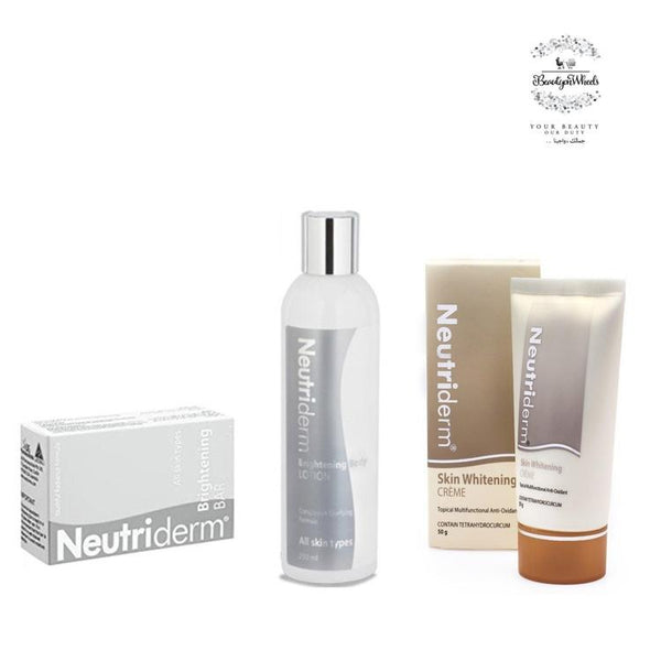 The Whitening Body Trio-Neutriderm-UAE-BEAUTY ON WHEELS