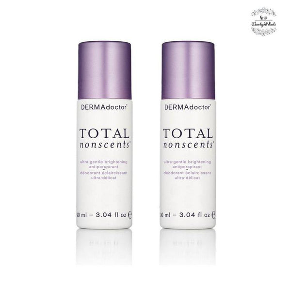 Total Nonscents Brightening Antiperspirant 90Ml Duo-DERMAdoctor-UAE-BEAUTY ON WHEELS