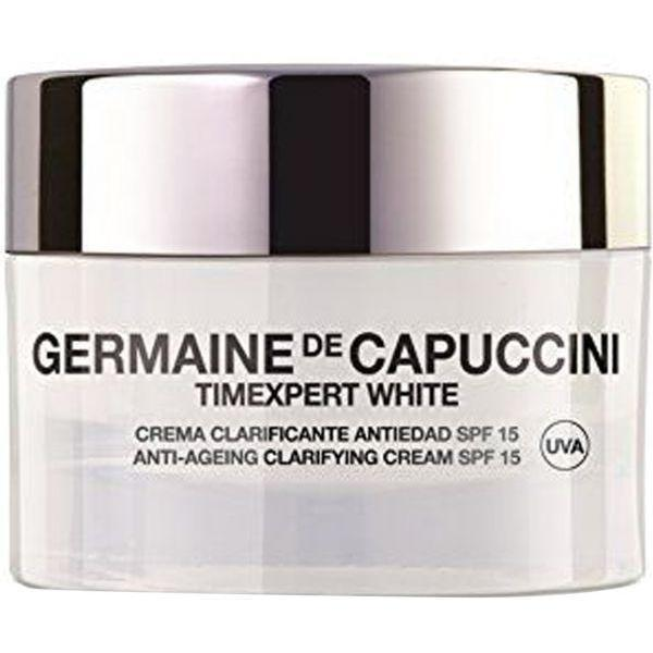 T.White Antiageing Clarifying Cream 50Ml-Face Care-Germaine De Capuccini-BEAUTY ON WHEELS-UAE-Dubai-Abudhabi-KSA-الامارات