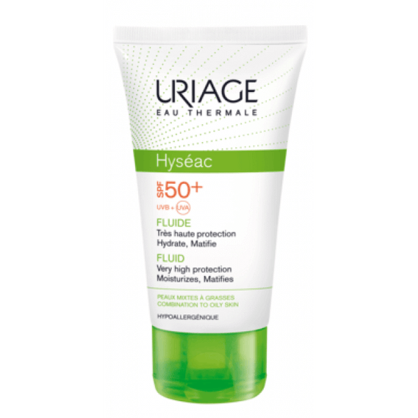Uriage Hyséac Solaire Spf50 50Ml-Body Care-Uriage-BEAUTY ON WHEELS-UAE-Dubai-Abudhabi-KSA-الامارات