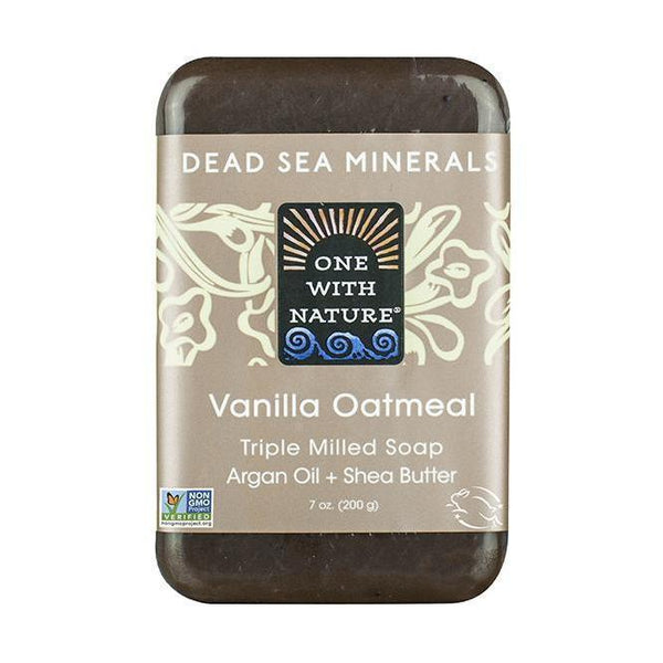 Vanilla Oatmeal Bar Soap-One With Nature-UAE-BEAUTY ON WHEELS