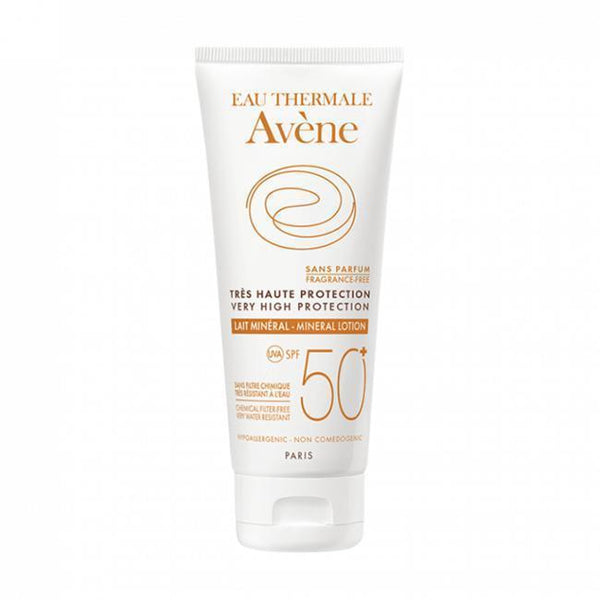 Very High Protection Lotion Spf 50+ 100 Ml-Body care-Avene-BEAUTY ON WHEELS-UAE-Dubai-Abudhabi-KSA-الامارات