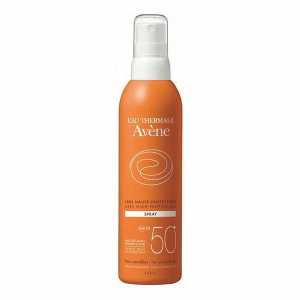 Very High Protection Spray Spf 50+ 200 Ml-Body care-Avene-BEAUTY ON WHEELS-UAE-Dubai-Abudhabi-KSA-الامارات