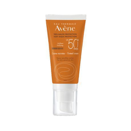 Very High Protection Tinted Cream Spf 50+ 50 Ml-Avene-UAE-BEAUTY ON WHEELS
