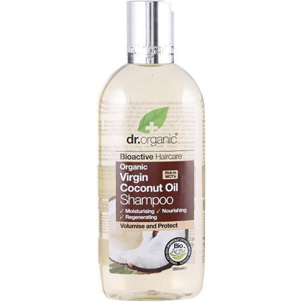 Virgin Coconut Oil Shampoo 265 Ml-Dr Organic-UAE-BEAUTY ON WHEELS