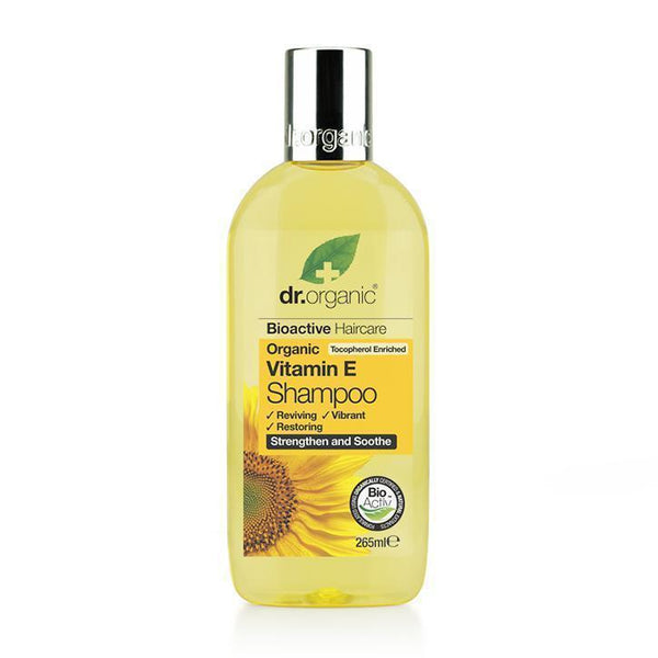 Vitamin E Shampoo 265Ml-Dr Organic-UAE-BEAUTY ON WHEELS