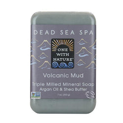 Volcanic Mud Bar Soap-Body Care-One With Nature-BEAUTY ON WHEELS-UAE-Dubai-Abudhabi-KSA-الامارات