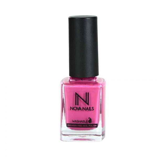 Water Based Nail Polish Fuschia # 21-Nova Nails-UAE-BEAUTY ON WHEELS