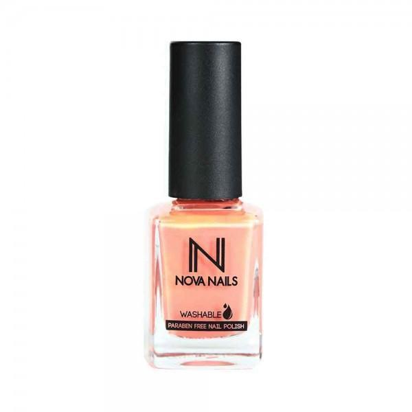 Nova Nails Water Based Nail Polish Pink Peaches # 70-Makeup-Nova Nails-BEAUTY ON WHEELS-UAE-Dubai-Abudhabi-KSA-الامارات