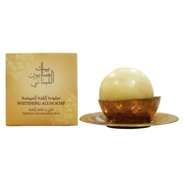Bayt Al Saboun-Whitening Alum Soap 120G Online UAE | BEAUTY ON WHEELS