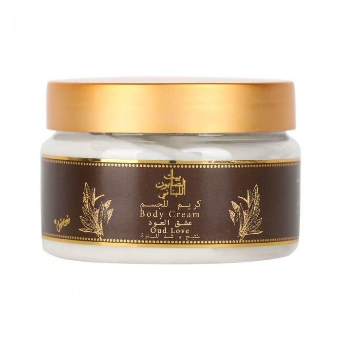 Whitening Body Cream Oud Love 300G-Body Care-Bayt Al Saboun-BEAUTY ON WHEELS-UAE-Dubai-Abudhabi-KSA-الامارات