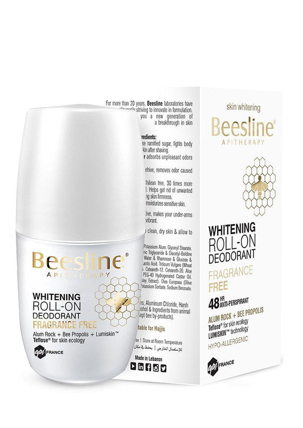 Whitening Roll-On Deo Frag Free 50Ml-Beesline-UAE-BEAUTY ON WHEELS