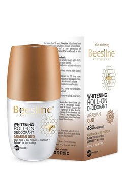 Whitening Roll-On Deodorant - Arabian Oud 50Ml-Beesline-UAE-BEAUTY ON WHEELS