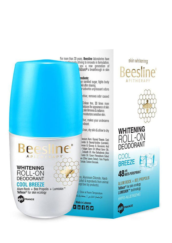 Whitening Roll-On Fragranced Deo Cool Breez 50Ml-Beesline-UAE-BEAUTY ON WHEELS