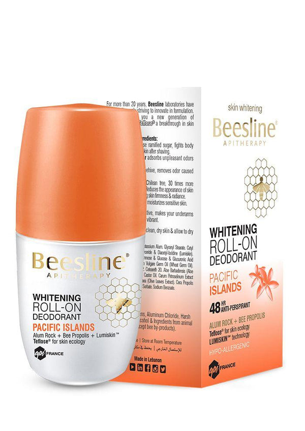 Whitening Roll-On Fragranced Deo Pacific Islands 50Ml-Beesline-UAE-BEAUTY ON WHEELS