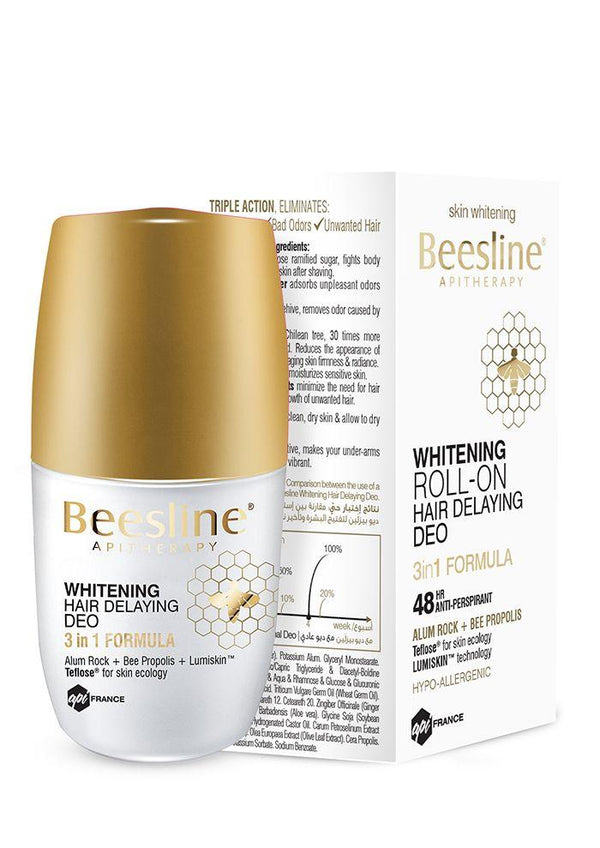 Whitening Roll-On Hair Delaying Deo-Beesline-UAE-BEAUTY ON WHEELS