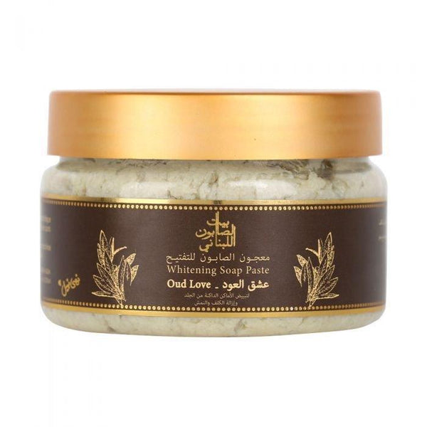 Bayt Al Saboun-Whitening Soap Paste Oud Love 300G Online UAE | BEAUTY ON WHEELS