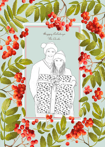 Greeting of Mistletoe - Pera