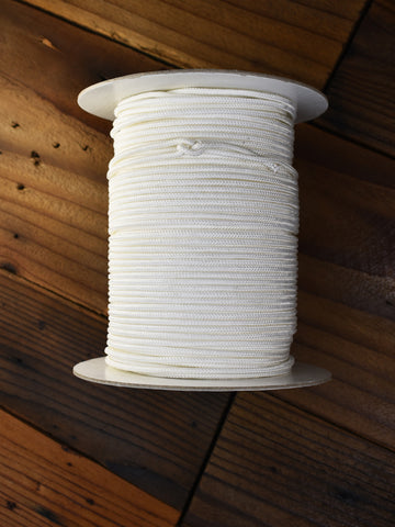 Lacrosse shooting cord 100 yard spool.