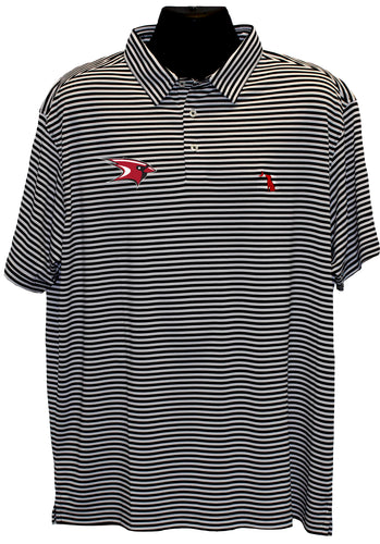 Men's Striped Polo (2 Colors)