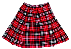 Girl's Plaid Skirt