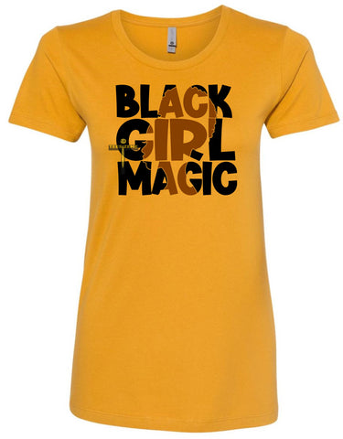 Black Girl Magic -Girl With Afro Image