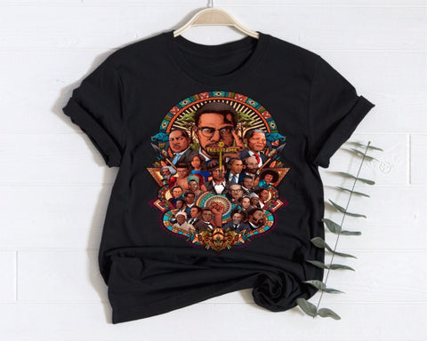 Black History Collage - Tee Size Me