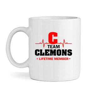Team Clemons Lifetime Member Mug