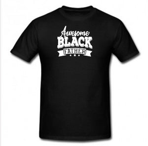 Awesome Black Father - Tee Size Me