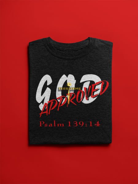 Women-God Approved Psalms 139:14 - Tee Size Me