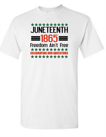 Juneteenth 1865 Freedom Aint Free Celebrating Our Ancestors