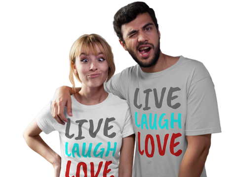 Live, Laugh, Love - Tee Size Me