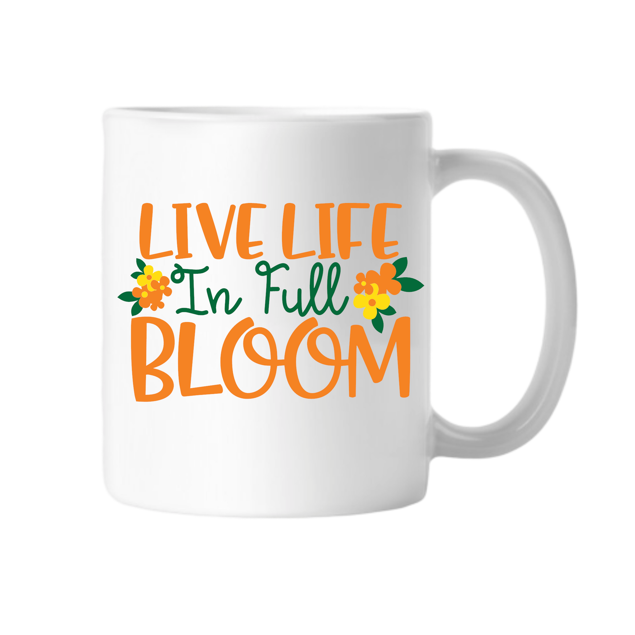 Live Life In Full Bloom - Tee Size Me