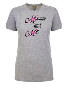 Mommy & Me T-Shirt - Tee Size Me