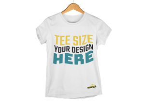 Design Your Tee Here - Tee Size Me