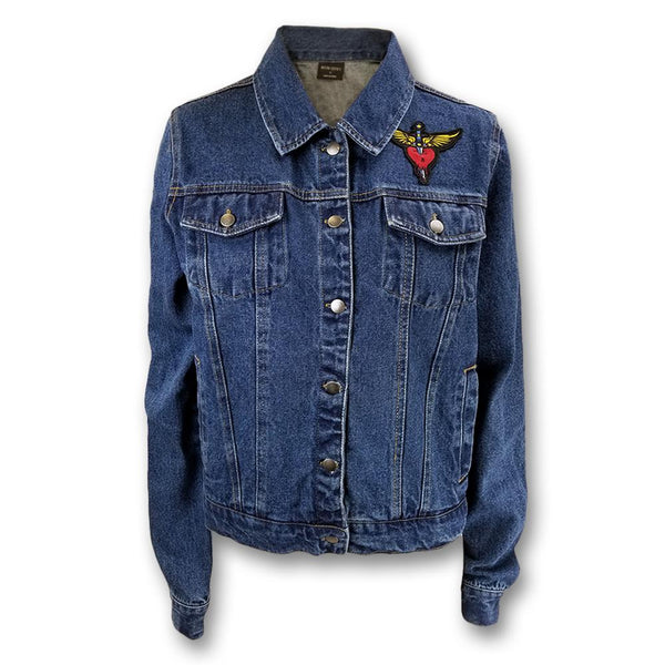 Blue Women's Denim Jacket