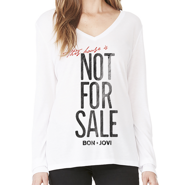 Not For Sale Womens Longsleeve