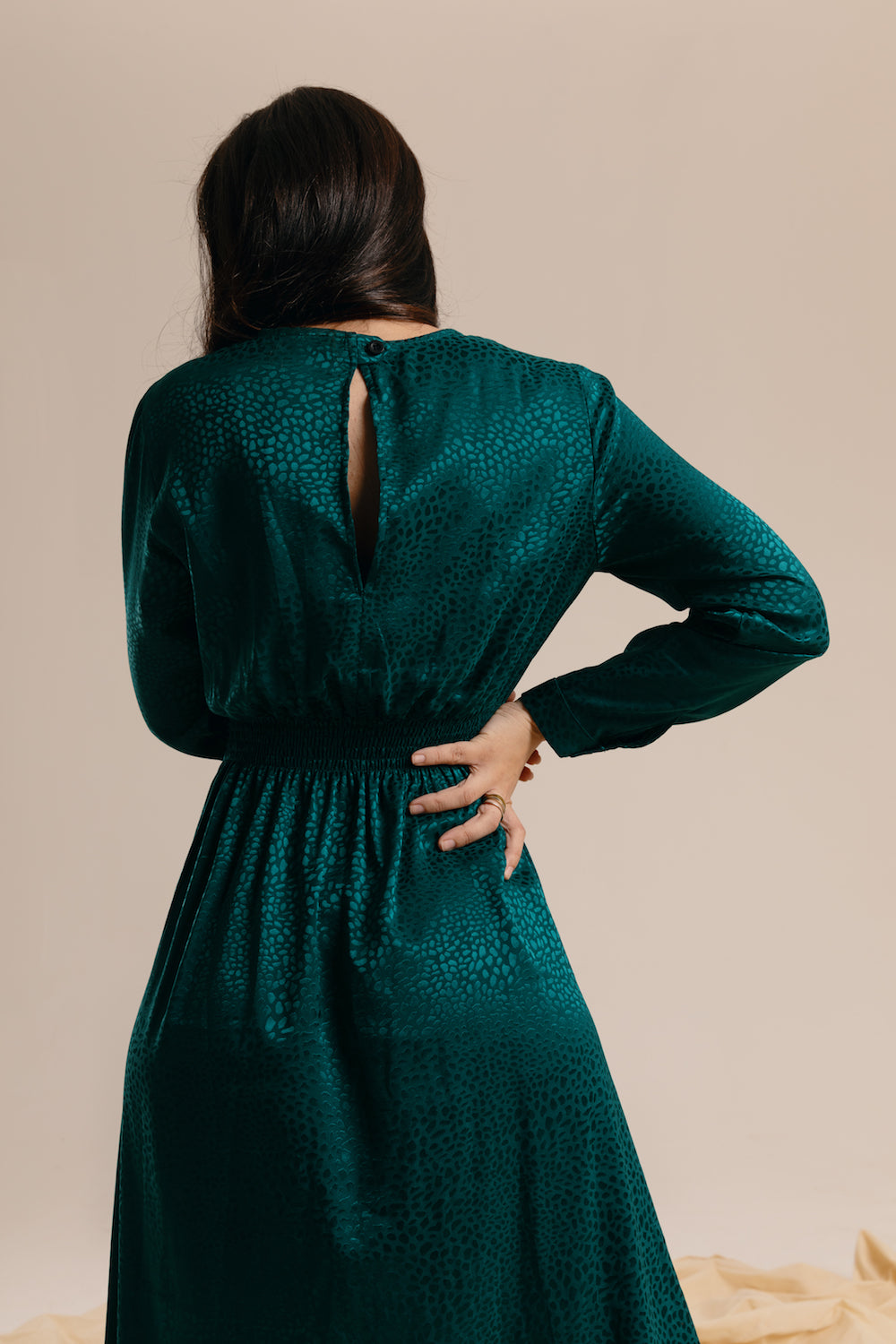 The Emerald Midi Dress