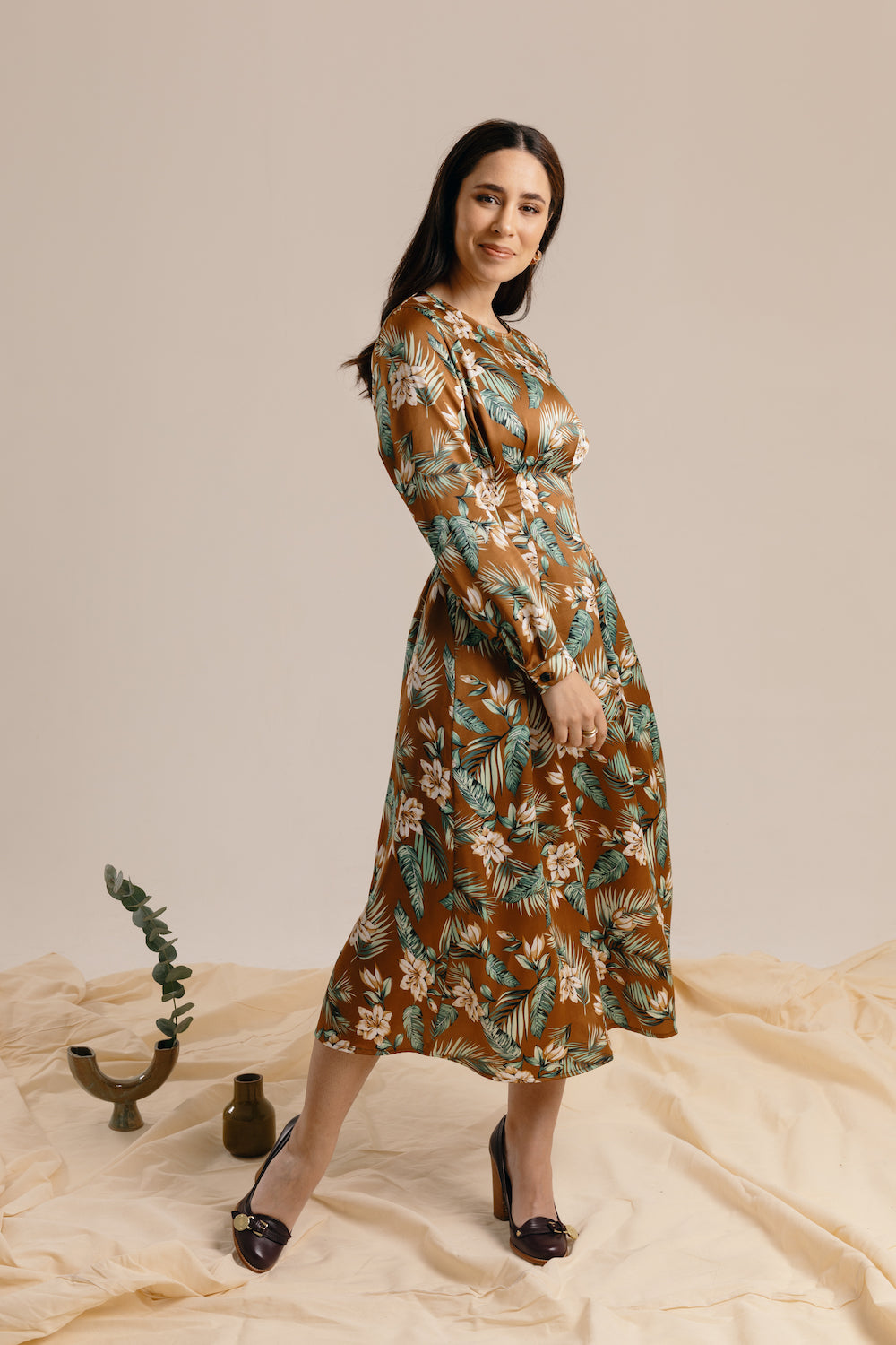 The Forest Maxi Dress
