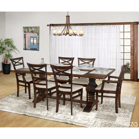 Tower Dining Table Cinnamon - Artefama Furniture